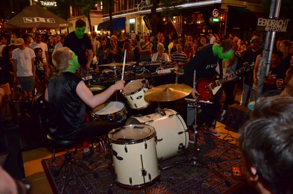 Band op Eendracht Festival